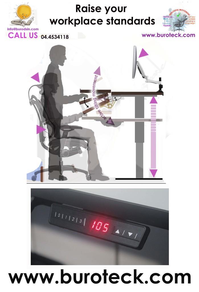 Height-adjustable-desk-dubai