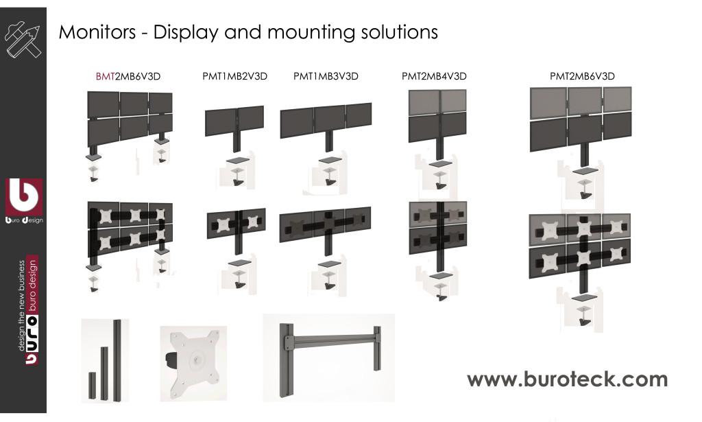 Multi-display-monitor-mounting-solurtions-dubai