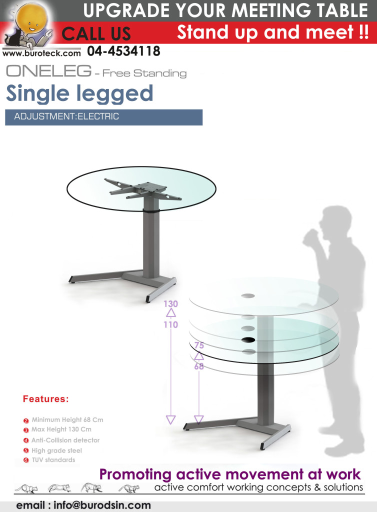Height adjustable table gadget kraft excellence in art for 100 table height